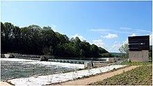Joigny-sur-Meuse — Barrage à bouchures gonflables à l'eau.jpg