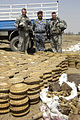 Joint U.S. Army, Iraqi national police forces unearth weapons cache in Abu Thayla DVIDS86968.jpg