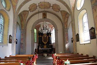 Jonen - Interior of the pilgrimage chapel in Jonenthal
