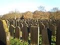 Joodse Begraafplaats Muiderberg Graeber1.JPG