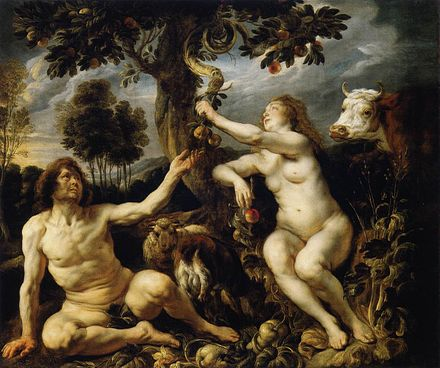 Fall of Man by Jacob Jordaens Jordaens Fall of man.jpg