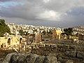 Jordan, Jerash (The old city and the new city). Valuable ruins of Jerash.jpg