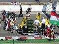 Jordan at the start grid at the 2003 Hungarian Grand Prix.jpg
