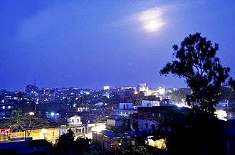 Jorhat - Image: Jorhat City evening skyline