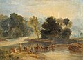 Joseph Mallord William Turner (1775-1851) - Men with Horses Crossing a River - N02695 - National Gallery.jpg