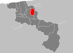 Location in Aragua
