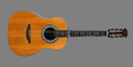 Josh White's custom made Ovation guitar.png