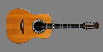 Josh White - White's custom-made Ovation guitar, 1965–66