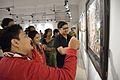 Joyful Visitors - Painters Orchestra - Group Exhibition - Kolkata 2015-12-12 7980.JPG