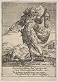 Judah with the Head of Adonibezek, from Willem van Haecht, Tyrannorum proemia, 1578 MET DP828368.jpg