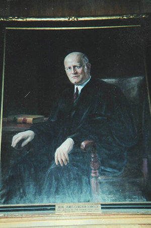 James C. Donnelly - Portrait of Judge James C. Donnelly, Worcester County Courthouse
