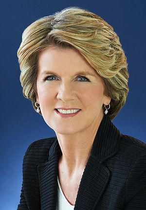 Minister for Foreign Affairs (Australia) - Image: Julie Bishop 2014