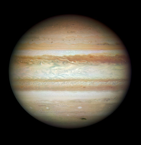 File:Jupiter on 2009-07-23 (captured by the Hubble Space ...