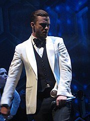 e0169ce56c7131 Timberlake performing during The 20 20 Experience World Tour, February 2014.