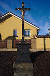 Kříž v jihozápadní části obce, Veselice, Vavřinec, okres Blansko.jpg