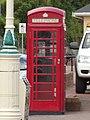 K6 telephone box, The Esplanade, Penarth.jpg