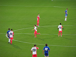 2010–11 KF Tirana season - Image: KF Tirana Utrecht