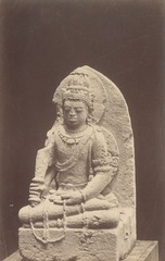 KITLV 87685 - Isidore van Kinsbergen - Hindu-Javanese sculpture coming from the Dijeng plateau - Before 1900.tif