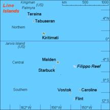 Sporadi equatoriali-Geografia-KI Line islands