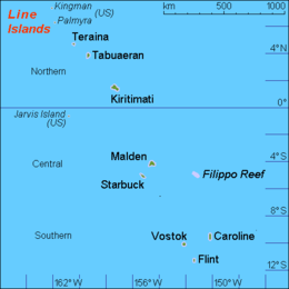 Line Islands - Wikipedia