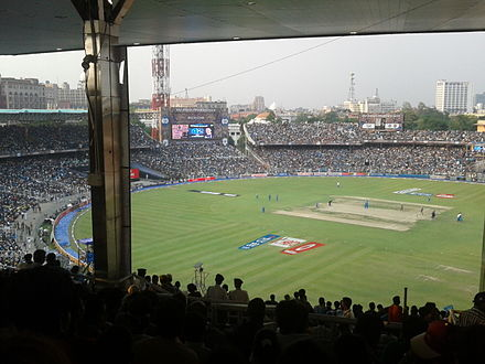 A Twenty20 cricket match between Kolkata Knight Riders and Pune Warriors during Indian Premier League at the Eden Gardens KKR vs PUNE WARRIORS 5th May 2012.jpg