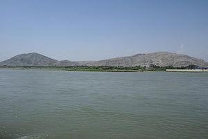 Rigvedic rivers - Kabul River near Jalalabad