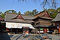 Kagoshima-jingu, honden and haiden-2.jpg