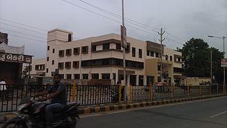 Kalol, Gandhinagar - Kalol Municipality Building side view.