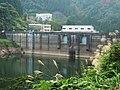 Kamiichigawa Dam and lake right view.jpg