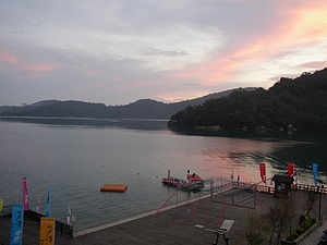 Sun Moon Lake - Image: Kandance 2005 sun moon lake