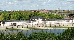 Karlbergs slott från Stadshagen
