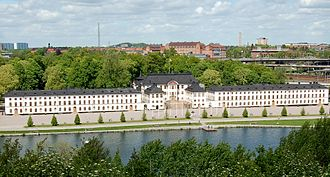 Swedish Fortifications Agency - Karlberg Palace in Solna, Stockholm — which houses the Military Academy Karlberg — is one of the properties managed by the SFA.