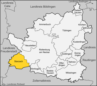 Starzach - Map Starzach