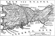 Px Karte der Insel Capri