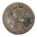 Kastpenning av silver från Karl XIIIs kröning 1809 - Skoklosters slott - 99583.tif