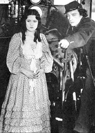 Marion Mack - Mack and Buster Keaton in The General