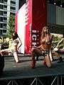 Keiko Bando 33 - posing - AKIBA ICHI Golden Week Special Live 2010 (2010-05-05 15.36.37).jpg