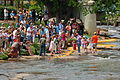 Ken-Ducky Derby 2009, people watching.jpg