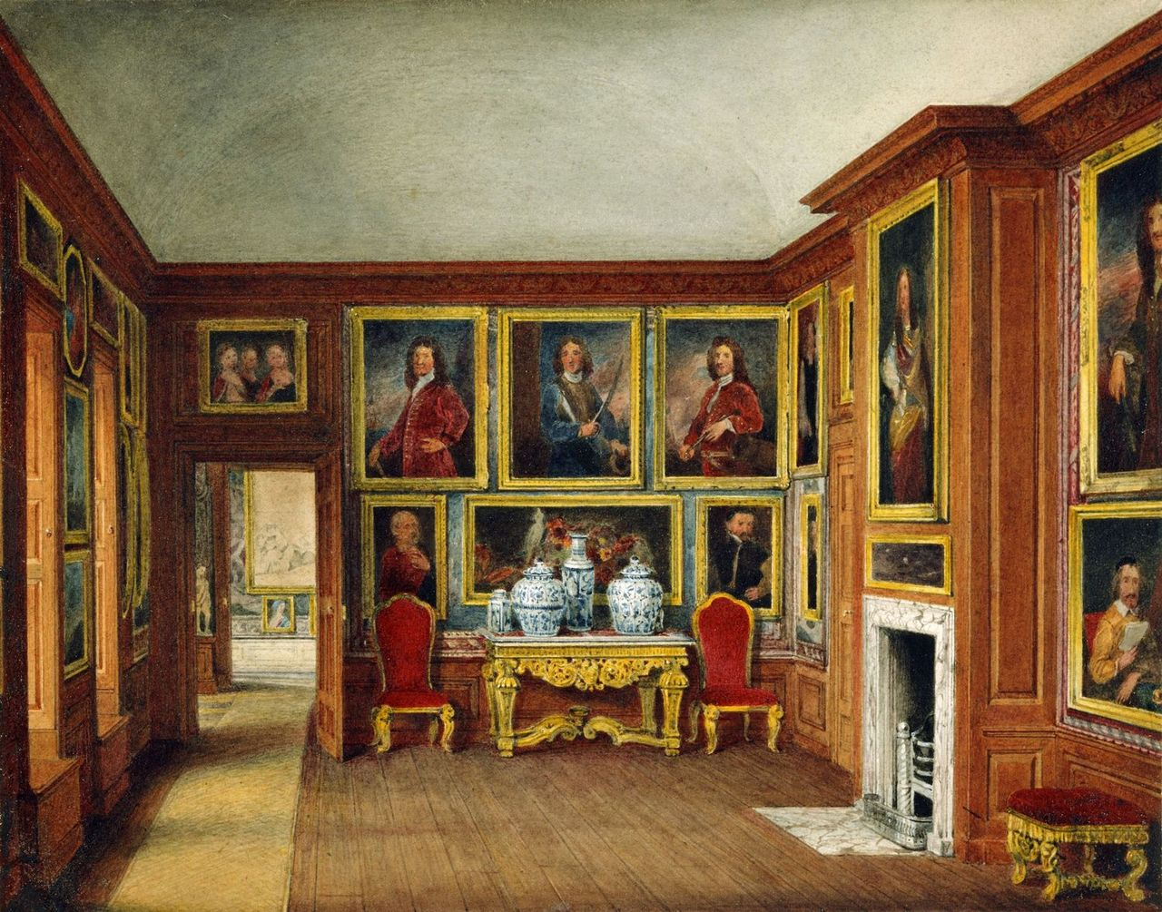 File:Kensington Palace, Queen Mary's Drawing Room, by ...
