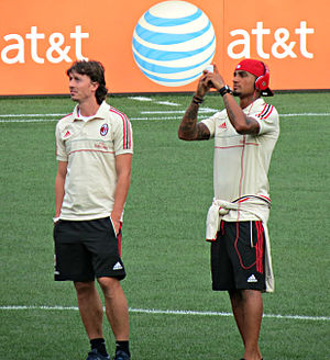 Riccardo Montolivo - Montolivo with Kevin-Prince Boateng in 2012