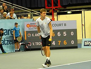 Kevin Anderson (tennis) - Kevin Anderson at 2016 Erste Bank Open