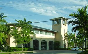 Key Biscayne, Florida - Image: Key Biscayne Fire Station