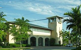 Key Biscayne, Florida - Image: Key Biscayne Fire Station
