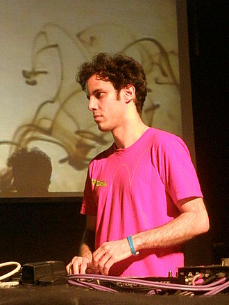 Four Tet - Hebden performing at Circulo de Bellas Artes in Madrid, Spain in 2008