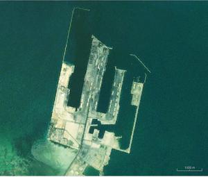 King Abdul Aziz Port - Landsat view of the port.
