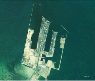 King Abdul Aziz Port - Landsat view of the port.