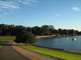 Rozelle - Foreshore of Iron Cove at King George Park