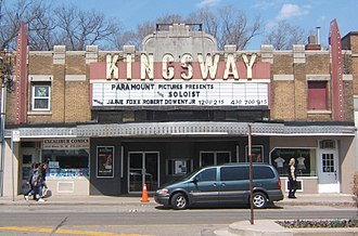 The Kingsway - The Kingsway Theatre was reopened on 1 January 2009.