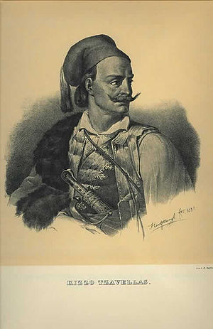Second Siege of Missolonghi - Kitsos Tzavelas