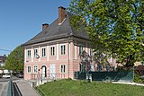 Klagenfurt Villacher Vorstadt Linsengasse 2 Wohnhaus SO-Ansicht 19042019 6601.jpg
